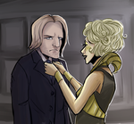 Haymitch and Effie by Super-Cute