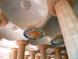 Parque Guell Particolare 2 by Sajo95
