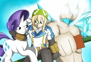 For Draxish - CoH meets MLP part 3 by marikazemus34