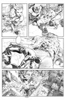 X-Men Pencils pg. 5 by ExecutiveOrder9066