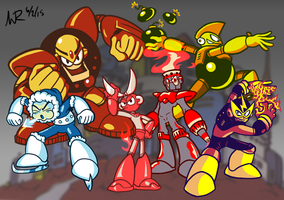 Robot Masters: The Light Brigade by Marioshi64