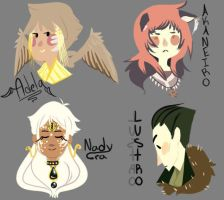 Fabula OCs by Animated123