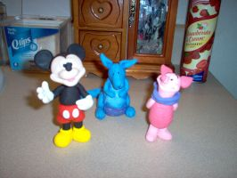 Fimo Characters by ryliecat