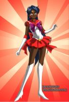 Taranee Cook as Sailor Mars by lordMartiya