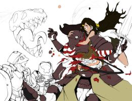 WIP gutting by Basu-zo