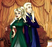 Narcissa and Lucius Malfoy by Harry-Potter-Spain