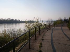 The Danube at Vac (at the end of the Danube bend) by llallogan