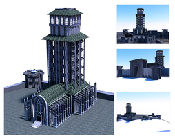 Blaustein Tower MK2 by orcbruto