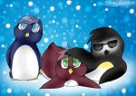 LPS  Penguin Bro's by breezybunnyart
