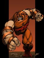 The Juggernaut by Lakcoo2u by SageHazzard