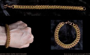 Persian Chain Maille Bracelet by horai