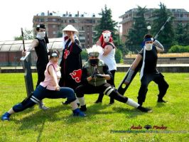 Naruto group part2 by StudioFeniceImport