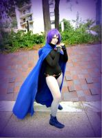 Raven cosplay by Crimsonyblack
