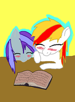 Two Books In A Rack .:REQUEST:. by Spicy-Cinnamon
