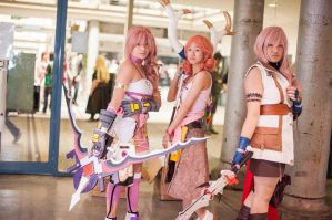 Final Fantasy 13 Group - Animania September 2012 by springroll97