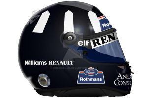 Damon Hill Helmet by engineerJR