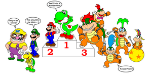 Top 10 Mario Characters by DarkDiddyKong