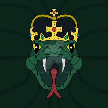 King Serpent by AdamAether