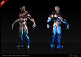 ZBrush sketch Robot 3 by Nero-tbs
