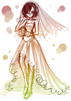 The Bride by Ayza-chan