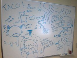 Office Graffiti by Taco-Strike-Force