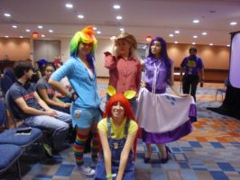 Animate Miami '13: MLP Group Shot 1 by NaturesRose