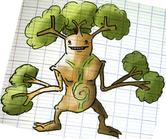 Sudowoodo Evo: Authentree by AlphaXXI