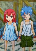 Erza x Jellal: suffering hardship together by dagga19