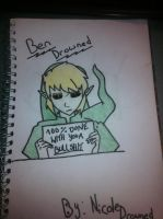 Ben Drowned by NikkiDrowned