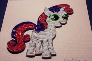 Sweetie Belle Quilling 6 by RadekaL