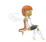 Artblock Angel by The-Concept-Artist