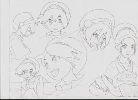 Sketches: Toph by ronnicuh