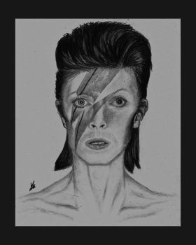 David Bowie - Ziggy Stardust by Annzig