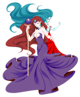 Queen Beryl-Mirror by Stacy-L-Gage