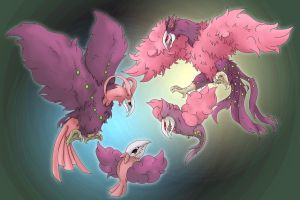 PKMNation: the demons in pink by MasamuneRevolution
