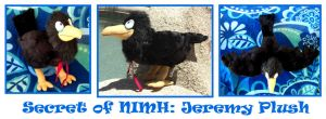 Secret of NIMH: Jeremy Plush by Patchwork-Shark