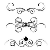 Floral vector elements 161 by cristina012