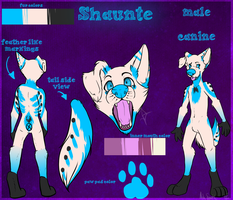 Shaunte Ref Commish by mangoweasel
