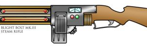 Blight Bolt MK.III Steam Rifle by Jolleboi