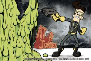 Atom Jones by the-dumb-waiter