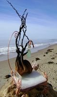 The faeries Sea Whimsey seat by pureshaktifire