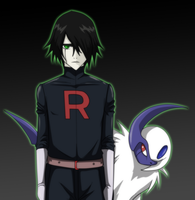 Rocket Ulquiorra by Arrancarfighter
