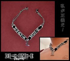 Death Note Necklace - L Version by Viress