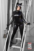 Catwoman Fire Escape by Pokypandas