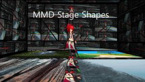 MMD Shape Stage by mbarnesMMD