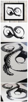 Straussart Infinity Tentacle by AndrewStrauss