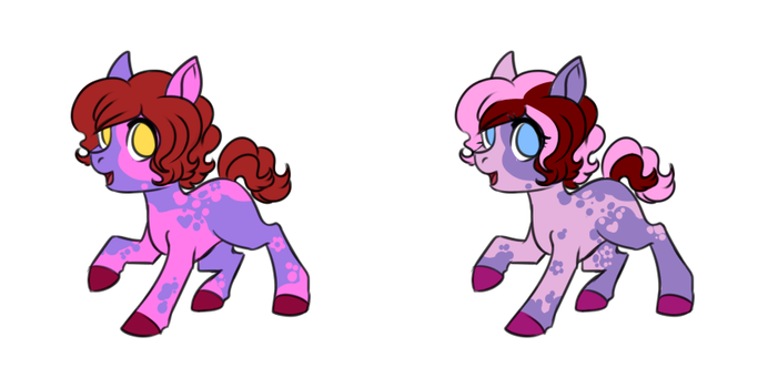 Vday Twin Cat-Tails Adopted by SinLigereep