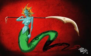 SLITHICE NAGA SIREN by themico