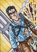 31Cards: Ash from Evil Dead by AtlantaJones