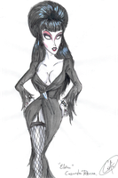 Elvira,  Mistressof  the  Dark by DemonCartoonist